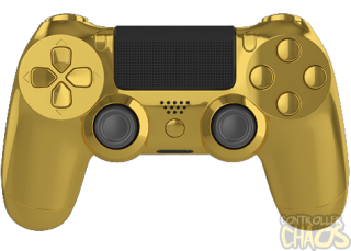 Gold Ps4 Controller Png PNG images