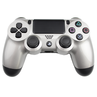 Playstation, PS4 Controller Silver Png PNG images