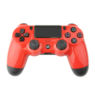 PlayStation4 Controller Red Png PNG images