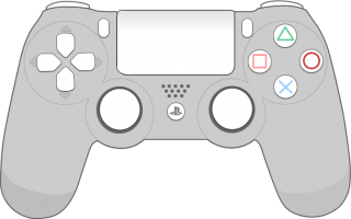Sony Playstation4 Controller Png PNG images