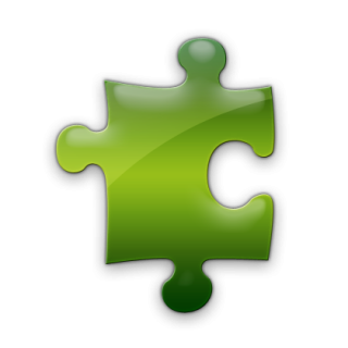Green Puzzle Icon PNG images