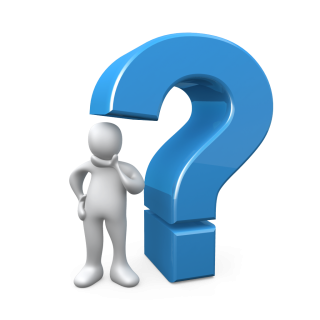 3d Question Mark Icon Blue Color Picture PNG images