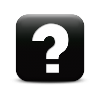 Question Mark Black Icon PNG images