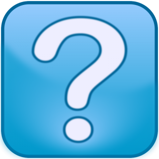 Question Mark Icon Blue Box PNG images