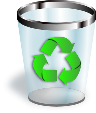 Recycle Bin Symbol Icon PNG images