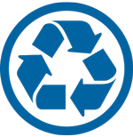 Recycle Blue Icon Png PNG images