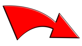 Red Curved Arrow Png PNG images