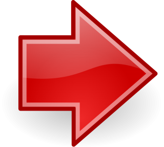 Red Arrow Glassy Right Png PNG images