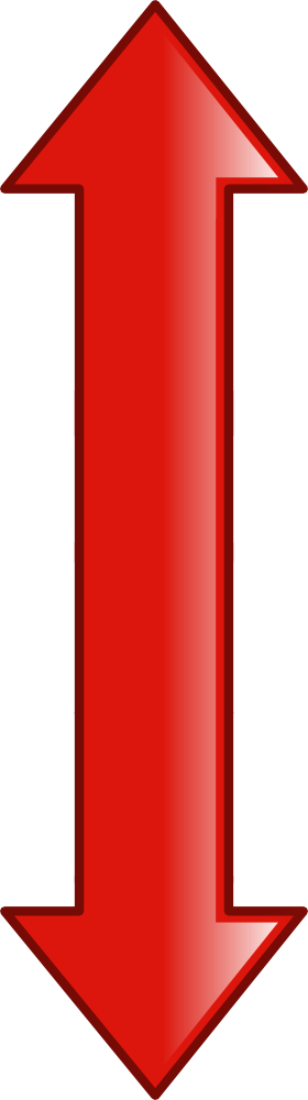 Red Double Arrow PNG images