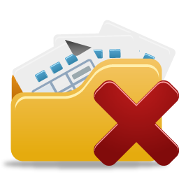 Open Folder Remove Icon Png PNG images