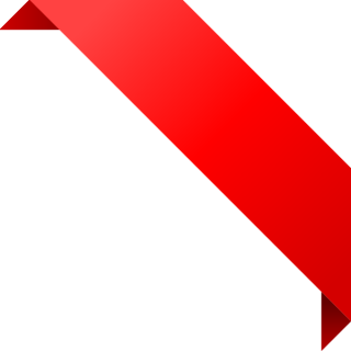 CORNER RIBBON02 RED Vector Data | SVG(VECTOR):Public Domain | ICON PNG images
