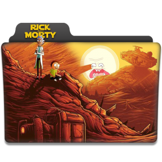 Rick And Morty Folder Icon PNG images