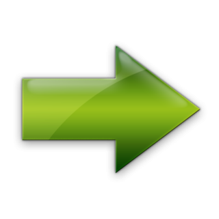 Green Right Arrow Icon PNG images