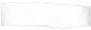 Ripped Notebook Paper White-Transparent Image PNG images