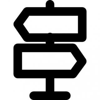 Icon Road Direction Symbol PNG images