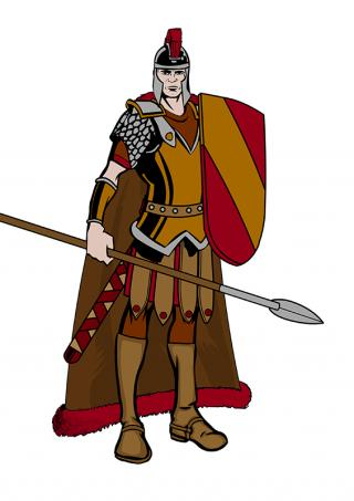 Svg Icon Roman Soldier PNG images