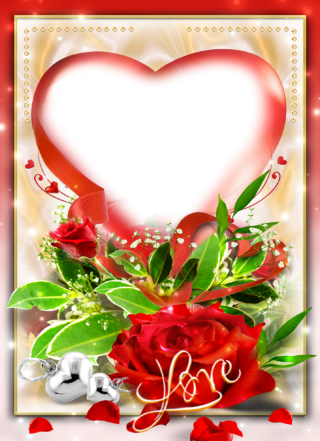 Heart Rose Romantic Png PNG images