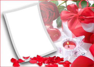Romantic Love Photo Frame Png PNG images