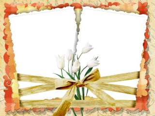 Wedding Floral Frame Romantic Png PNG images