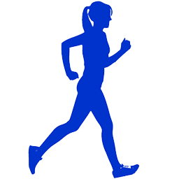 Running Woman Icon PNG images
