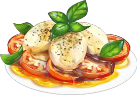 Recipe Caprese Salad Png PNG images