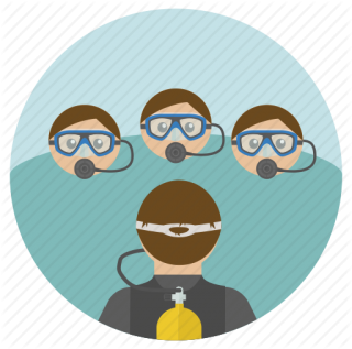 Scuba, Teaching Icon PNG images
