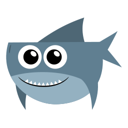 Vector Shark Drawing PNG images