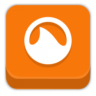 Orange Shark Icon PNG images