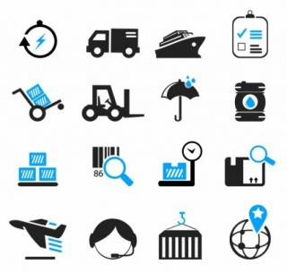 Cargo Ship Icon Logistics And Shipping Icons PNG images