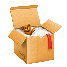 Shipping Box Icon | Free Shopping Iconset | PetalArt PNG images