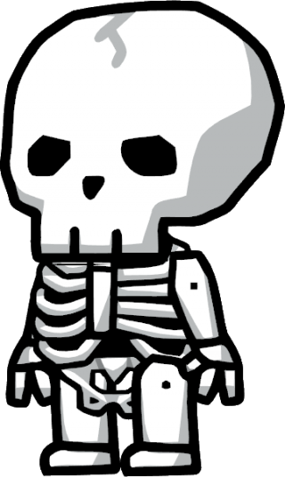 Living Skeleton Png PNG images