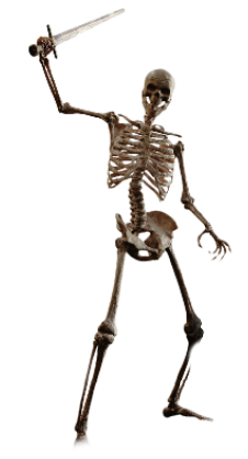 Skeleton Warrior Png PNG images