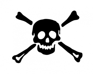 Clipart Skull And Crossbones Pictures Free PNG images