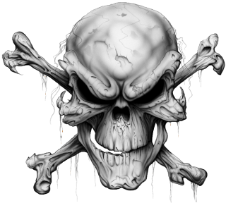Transparent Skull And Crossbones Background PNG images