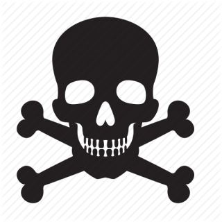 Attention, Bones, Death, Skull Icon PNG images