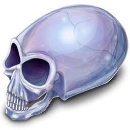 Crystal Skull Icon PNG images