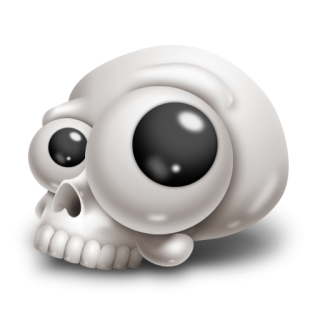 Skull 1 Icon PNG images