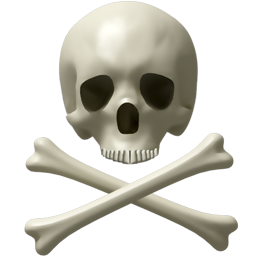 Skull And Bones Icon PNG images