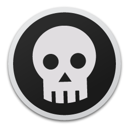 Skull Bw Icon PNG images