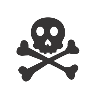 Skull Crossbones Icon PNG images