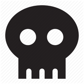 Symbol Icon Skull PNG images