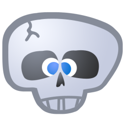 Vector Icon Skull PNG images