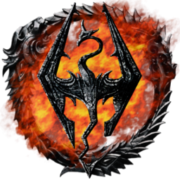 Flame Skyrim Icons PNG images