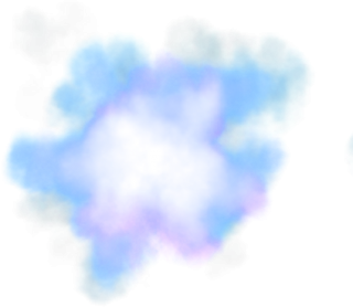 Blue Smoke Clouds Png PNG images