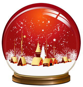 Red Snow Globe Png PNG images