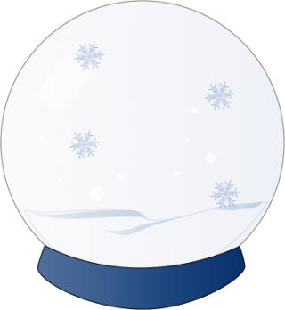 Use These Snow Globe Vector Clipart PNG images