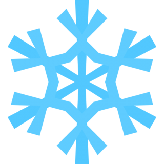 Blue Snow Icon PNG images