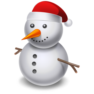 Use These Snowman Vector Clipart PNG images