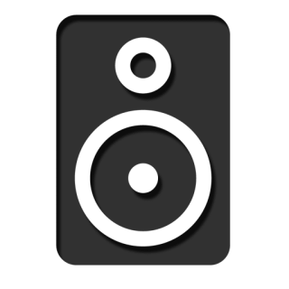 Icon Drawing Speaker PNG images