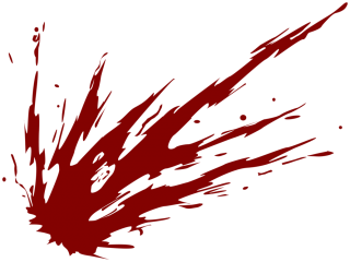 Red Blood Splat Png PNG images